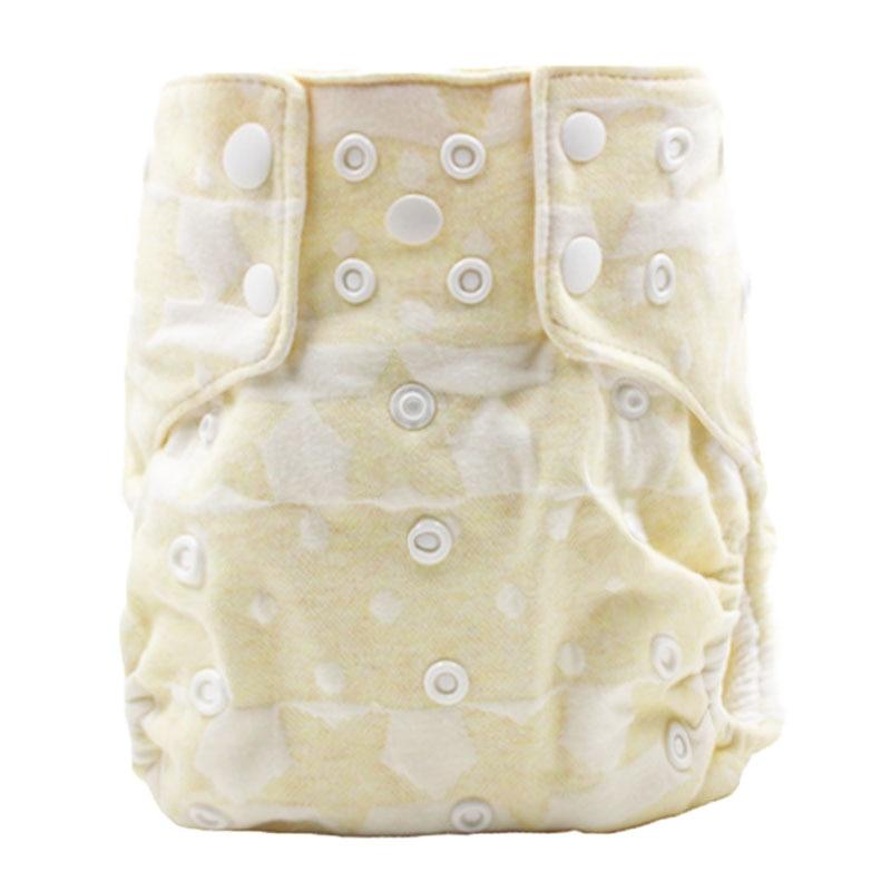 100% katoenen waterdichte doekluier met katoenen Binnen One Size Baby - Luiers en zindelijkheidstraining - Foto 2
