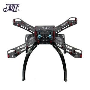 Image 2 - Jmt Volledige Kit Diy Gps Drone Rc Glasvezel Frame Multicopter Fpv APM2.8 1400KV Motor 30A Esc Flysky 2.4GFS I6 zender