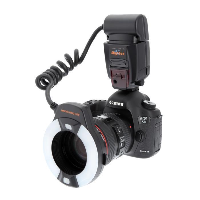 Meike MK-14EXT ETTL Macro anneau flash AF lampe dassistance pour Canon 70D 7DII 550D 700DMeike MK-14EXT ETTL Macro anneau flash AF lampe dassistance pour Canon 70D 7DII 550D 700D
