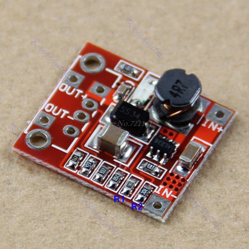 1PC New 1A 3V to 5V DC-DC Converter Step Up Boost mobile power supply Module image