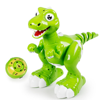 Dinosaur Robot Remote control robotic dinosaurio smart pet dino kid toys radio controlled robot toy spray baby toy dinossauro