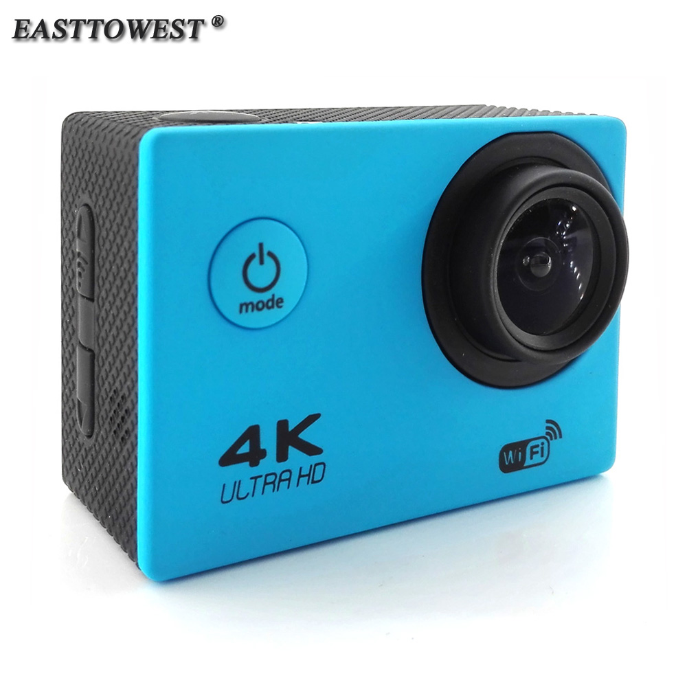 "2.0"" 4K 16MP Actoin Camera HD Wifi Action Cam 170 Degree Wide Lens Go 30m Waterproof Pro Style Sports Camera"