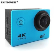 "2.0 ""4 K Actoin 16MP HD Cámara de Acción Wifi Cam 170 Grados Lente Ir 30 m A Prueba de agua Pro Estilo Deportivo cámara"