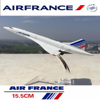 kids toys 1/400 scale concorde air France diecast airplane model collectible passenger aircraft toys for children gifts недорого