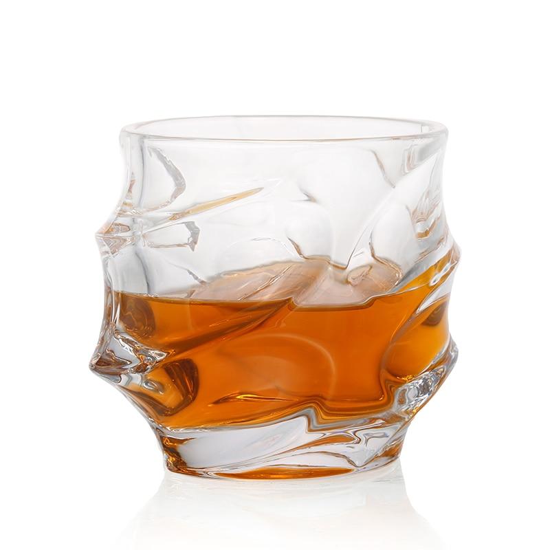 1Pcs 350ML Whiskey Glasses Scotch Glasses Unique Elegant Dishwasher Safe Glass Liquor or Bourbon Tumblers Ultra-Clarity Glass mt everest whiskey glasses