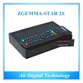 20pcs/lot Official High-Tech Software Supported Zgemma-Star 2S FTA Satellite Receiver With DVB-S2+DVB-S2 Twin Tuners IPTV Box