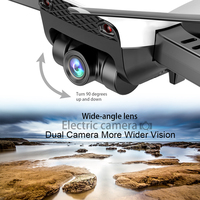 LAUMOX M69G FPV RC Drone 4K Camera Optical Flow Selfie Dron Foldable Wifi Quadcopter Helicopter VS VISUO XS816 SG106 SG700 X12 3