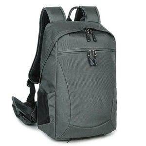 Image 5 - Водонепроницаемый рюкзак для камеры многофункциональный Многофункциональный цифровой SLR Мягкий сумка для фотокамеры с дождевой крышкой для Nikon Canon sony