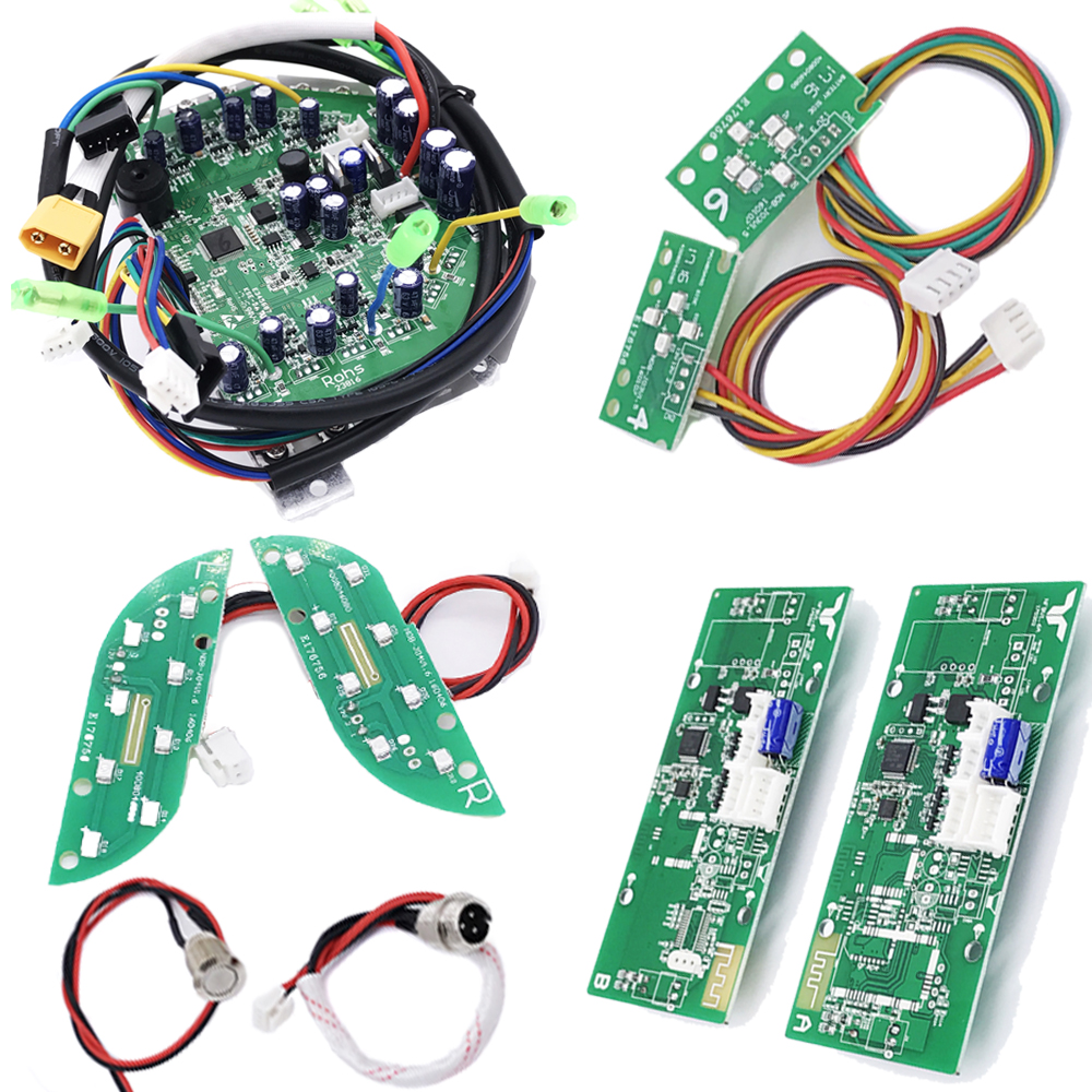 Hoverboard Motherboard Scooter Mainboard Control Board PCB for 6.5 8 10 Self Balancing Scooter Overboard Giroskuter Skateboard circself balancing control circuit motherboard for hoverboard scooter repair parts