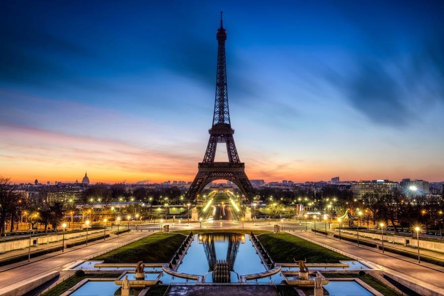 Custom Canvas Wall Decals French Sticker Mural Paris Decor Eiffel Tower Poster Paris Wal ...
