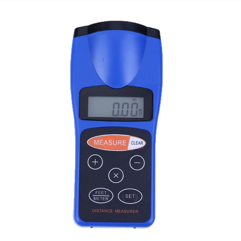 0.01/18 м ЖК-дисплей ультразвуковой измерение расстояния Многофункциональный дальномер электронная линейка