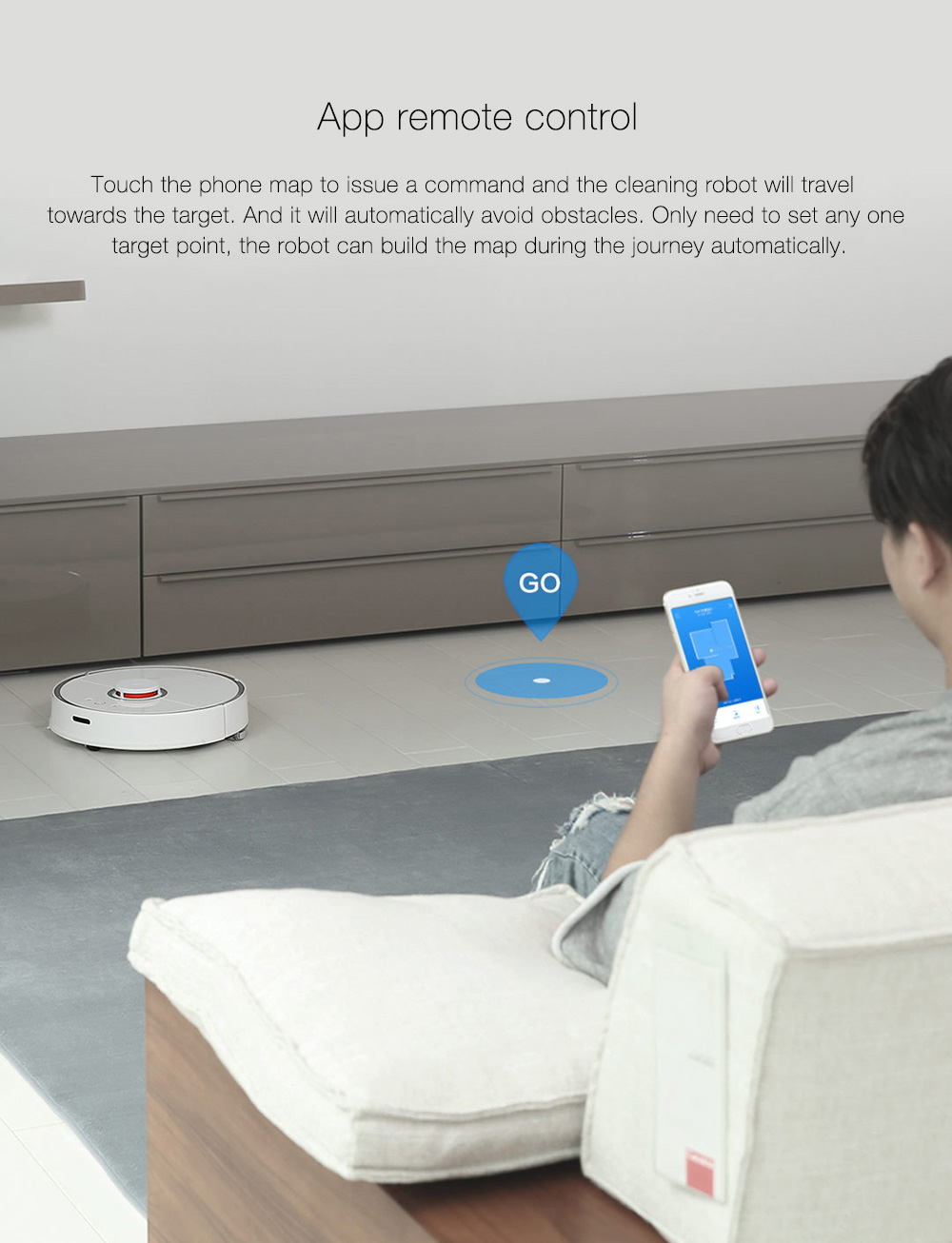 INTERNATIONAL VERSION XIAOMI MIJIA ROBOROCK VACUUM CLEANER 2 AUTOMATIC AREA CLEANING 2000PA SUCTION 2 IN 1 SWEEPING MOPPING FUNCTION 256393 10