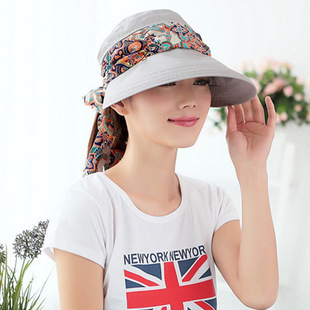 Bohemia Cloth cover face beach hat holiday for Uv protection summer hat fashion  women beautiful girl sun hat 13665c598e