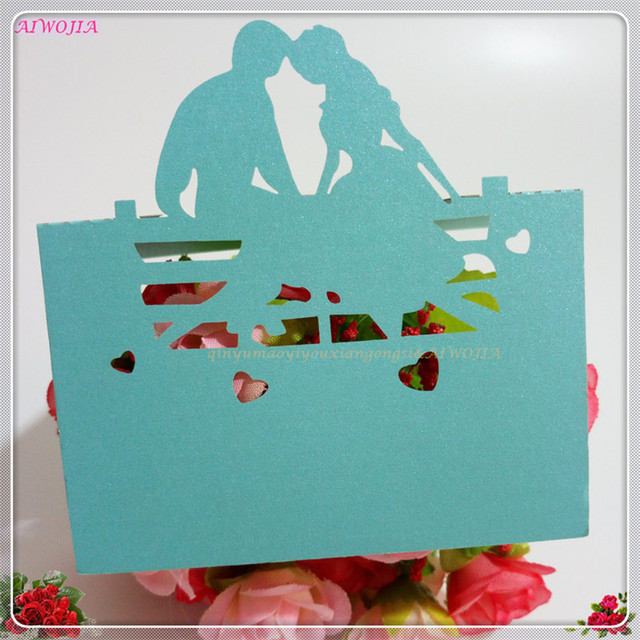 50Pcs Wedding Name Cards Wedding Decorations Place Cards Guest table