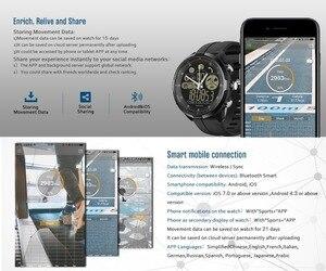 Image 4 - Zeblaze vibe 4 HYBRID INTELLIGENTE Della Vigilanza Donne Degli Uomini Smartwatch Impermeabile 24 mesi di Tempo di Standby 24h Monitoraggio per tutte le stagioni