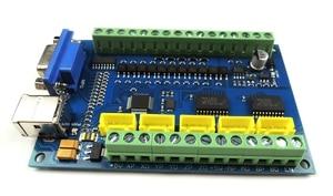 Image 5 - MACH3 USB 5 Achse 100KHz USBCNC Glatt Stepper Motion Controller karte breakout board + 1 stücke Hohe qualität industrielle hand rad