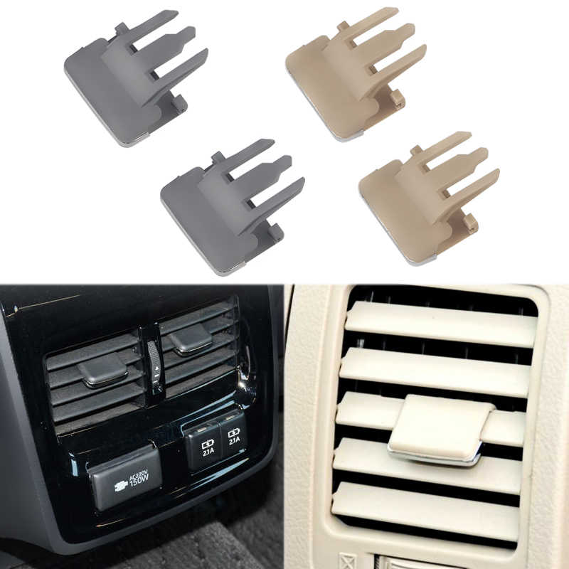 4 PCS Car Air Conditioning Vent Car Center Dash A/C Vents Paddle Air Conditioning Leaf Clip For Toyota Corolla old style Sagitar