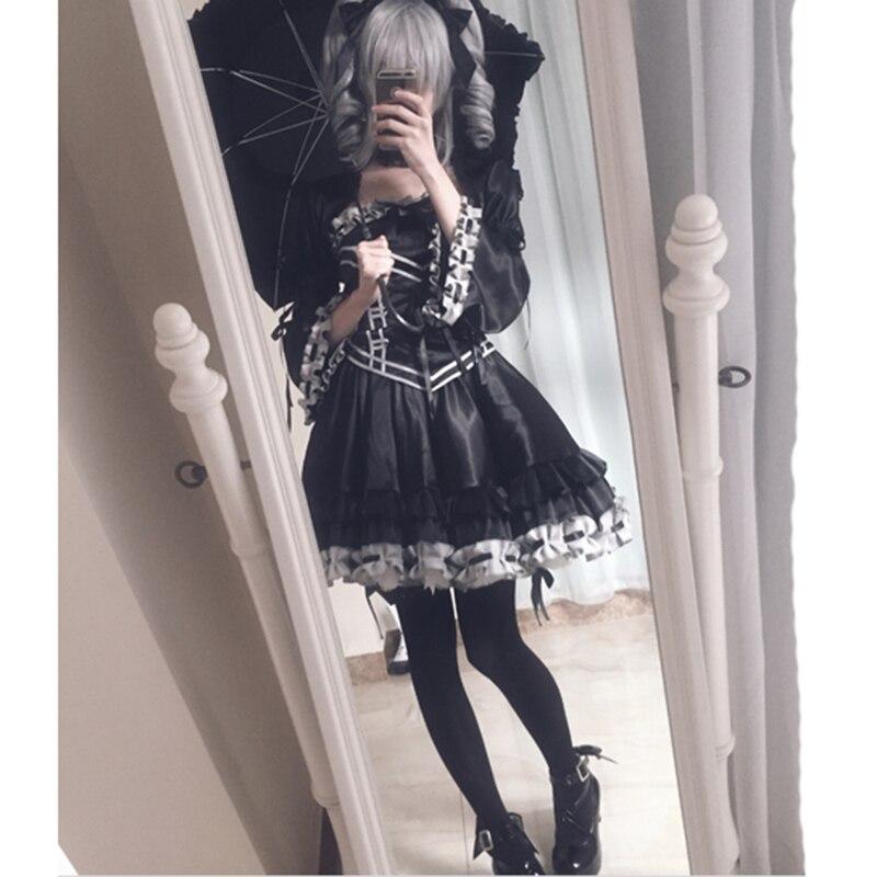 Nouveaux vêtements Anime l'idolm @ STER Kanzaki Ranko Cos gothique Cosplay costume sur mesure