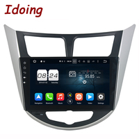 Idoing 9 Steering Wheel 8Core 2G 32G 2Din For Hyundai Accent Verna Solaris Android 6 0