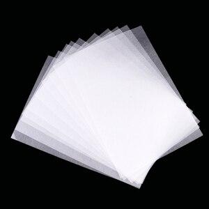 Feuilles de Film rétractable blanc 10 pièces   Papier thermorétractable pour décoration de bricolage, bijoux à breloques suspendus, papier thermorétractable