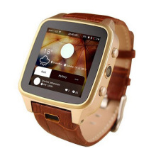 Fashion SZ9 Android 4.4 GSM 3G MTK6572 Dual Core Smart Watch Phone 8G Memory Side Camera Waterproof WiFi and Multi-language.