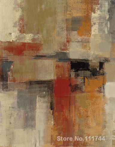 abstract painting Intersection Crop I by Silvia Vassileva art for living room Hand painted High quality