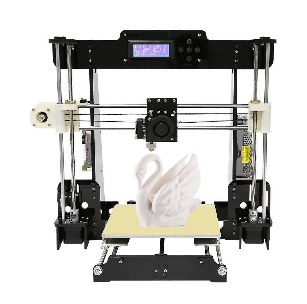 Easy Assemble lastest Large Printing Size Anet 3d printer upgrated Reprap Prusa i3 3D Printer Full