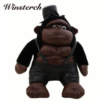2016 New Simulation Gorilla Rise Of The Planet Of The Apes Plush Dolls Animation Baby Toys