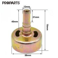Барабан сцепления 7 сплайн 9 сплайн, чтобы соответствовать 26CC 1E34F 260 различные стриммер триммер кусторез запасные части