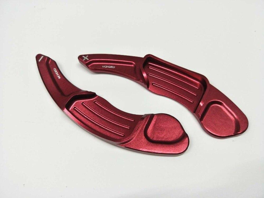 Vente pour Ford Mondeo voiture changement de volant palette alliage long modifié sport aluminium 2 pièces