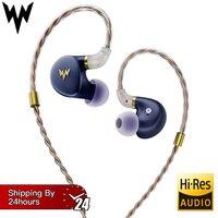 kulaklık A HE03 HiFi Bass Earphones Hi Res Headsets Hybrid Armature 2Pin Connector 3.5mm In Ear Monitors HiFi Earbuds kulaklı