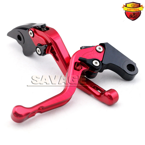 ФОТО For HONDA CBR929 CBR 929 2000-2001 Red Motorcycle CNC Billet Aluminum Short Brake Clutch Levers