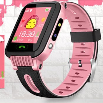 Children Smart Watch GPS Tracker Anti Lost Monitor SOS Call Smart Camera Phone Watch 1.44 Inch Screen Pink Blue Cute Kids Gifts Children Watches