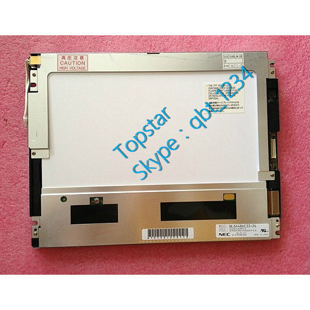 10.4 Inch NL6448AC33 24 640 RGB *480 VGA CMOS LCD Display CCFL LCD Screen TFT LCD Panel