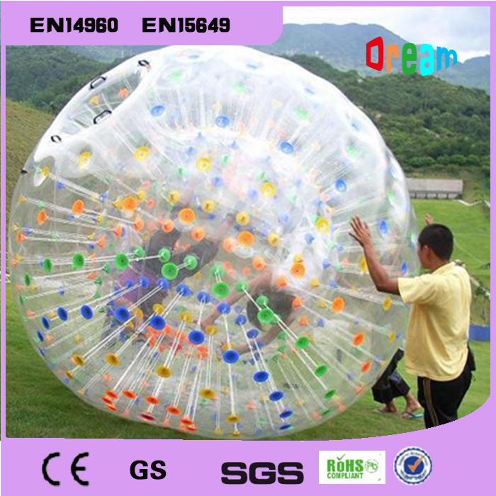 Free Shipping Zorb Ball 2.5m Human Hamster Ball 0.8 mm PVC Material Zorb Inflatable Ball Outdoor GameFree Shipping Zorb Ball 2.5 free shipping 2 5m pvc inflatable zorb ball for bowling outdoor human bowling sport inflatable body zorb ball