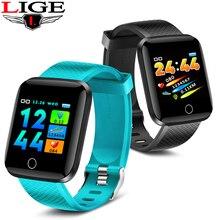 Get more info on the LIGE 2019 Men Women Sport Smart Watch Bluetooth Ip67 Waterproof Smart Bracelet Fitness Tracker Blood Pressure Heart Rate Monitor