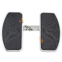 Front Rider Footboard Floorboard for Yamaha V-STAR DragStar XVS 400 600 650 650A 1988+ Virago XV125 XV250 XV400 1994-2013 (24cm) все цены