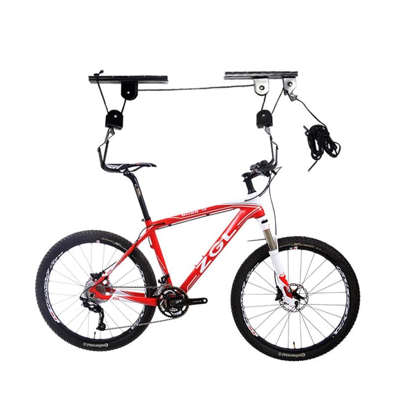 Support de grue de voiture de montagne de vélo support de stationnement support d'affichage cadre de Suspension de mur supports de vélo
