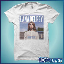 2017 New Fas hions Order T Shirts Short Cotton Crew Neck Mens  Lana Del Rey Born To Die