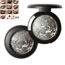 FOCALLURE Baked Eyeshadow Eye Shadow Palette Shimmer Metallic Eyes Makeup Tools MH88