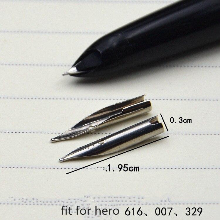 10PC Silver Iraurita Fit For Most F PEN Fountain Pen F Nib