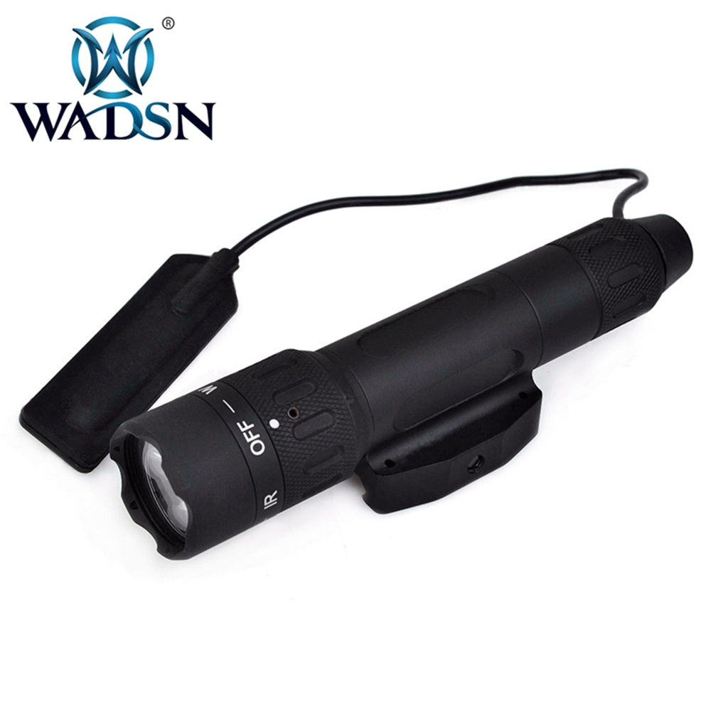 Image 3 - WADSN Weapons Airsoft LED light Tactical kit includes LA 5/PEQ 15 Red IR Laser & WMX200 Flashlight &Double Remote Control WEX418-in Weapon Lights from Sports & Entertainment