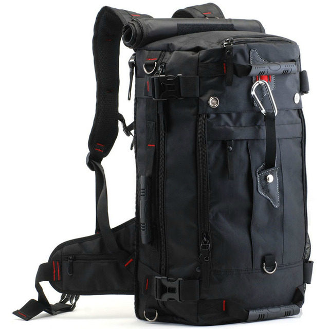 New fashion travel male backpack, big size nylon bag, military ...