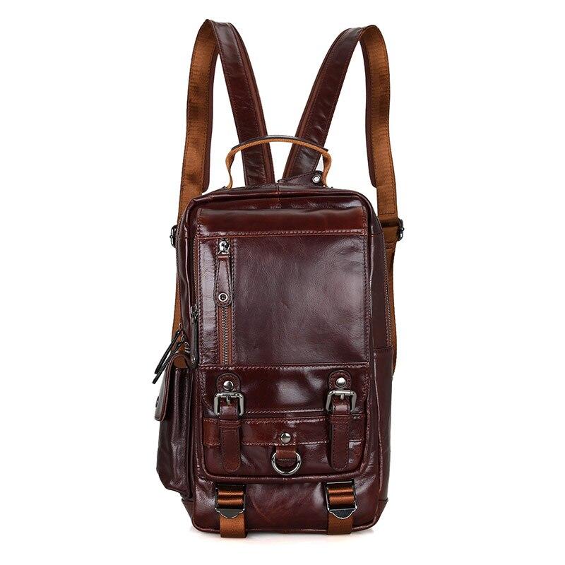 J.M.D Women Leather Backpack Purse Satchel Shoulder School Bags 2002C
