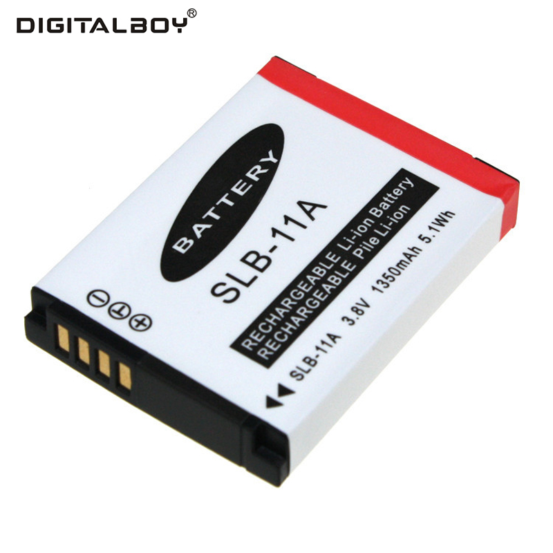 цена на Digital Boy 1350mAh 1pcs SLB-11A SLB 11A SLB11A Battery For Samsung CL65 HZ25W WB1000 TL320 240 HZ30W WB610 WB2000 TL350Camera