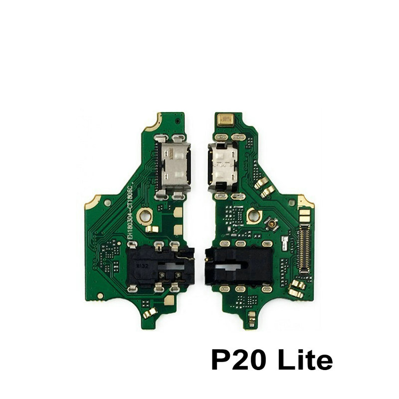 Original For Huawei Nova3E/P20Lite ANE-AL10 USB Charging Charger Port Dock Connector Flex Cable With Microphone