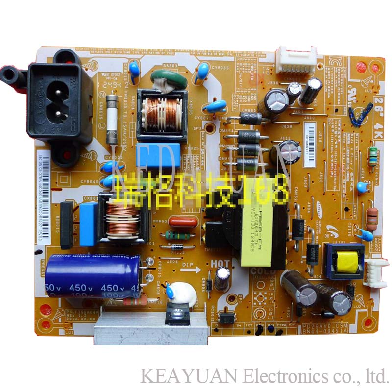 free shipping original 100% test  for 26 4k BN44-00491A PD26AV0_CSM PSLF360A04A board
