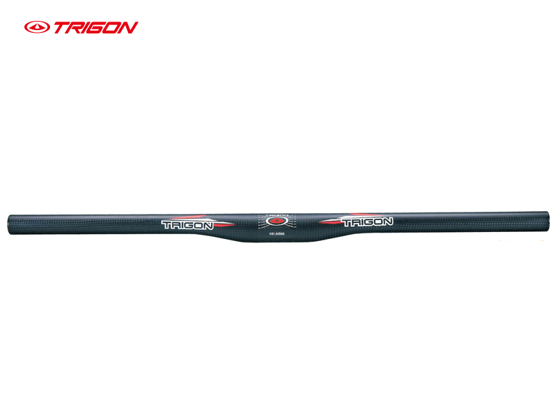 TRIGON  HB115 ultra light full carbon fiber MTB  bike bicycle handlebar mountain bike Horizontal handlebar flat bar 31.8mm*580mm fouriers hb mb014 320 mtb mountain bike swallow shaped rise handlebar carbon fiber mountain diameter 31 8mm x width 660mm