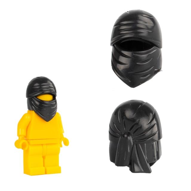US $2 99 20% OFF|Military SWAT Helmet Building Blocks Bricks Police  Accessories Blocks Outlaws Hat Terrorist Minifigs Head Wrap Blocks Parts  Toys-in