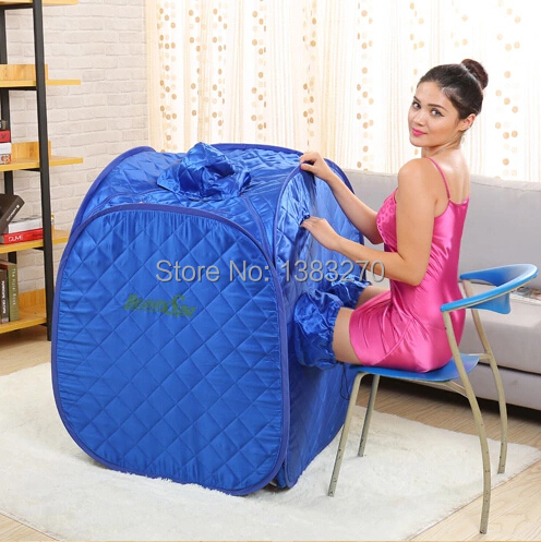 2017 As Seen On Tv Weight Lose Steam Room Sauna Steam Box